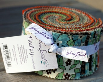 SALE 2.5 inch HADLEY Design Jelly Roll strips fabric by Denyse Schmidt