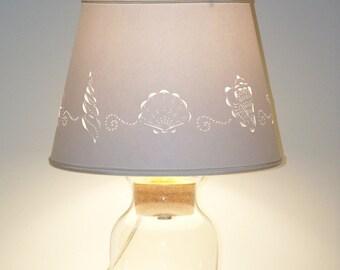 add your own seashell lamp fillable lamp shell lamp seashells lamps