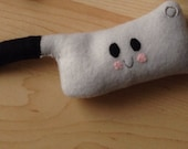 Butcher knife stuffie