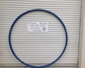 Blue Cyr Wheel or any basic color! Made in the USA and ONLY 850 powdercoated. Color of your choice. Why pay more for unpainted wheel?
