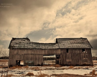 barn landscape photography farm storm clouds fine art photography office decor home decor rural decay