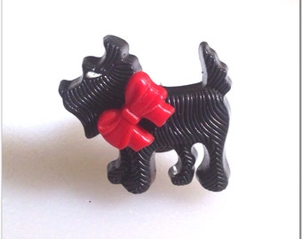 Scottish Terrier Black Dog Ring