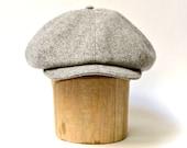 Men's Newsboy Hat - Wool Newsboy Cap - CHOOSE YOUR WOOL