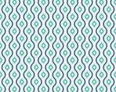 Lazy Diamond in Blue---1 yard---Lazy Day Cottons for Riley Blake Fabrics