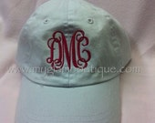 Infant or Toddler Custom Personalized Baseball Hat Cap