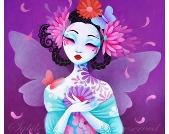 Print Fairy queen