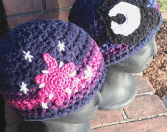 MLP Pony Cutie Mark Inspired Brony Beanies