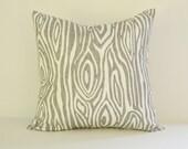 Tree Pillow Cover Decorative Pillows Wood Throw Pillows Grey Pillow 16x16 18x18 20x20 22x22