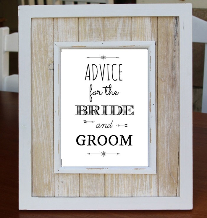 Advice For The Bride And Groom Digital Download Art Print