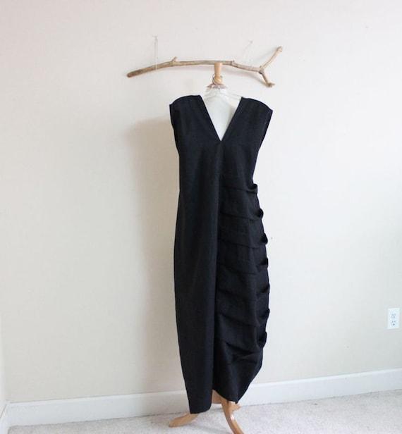 custom linen bottle spiral dress made to fit listing