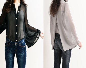 Empty Cicada - Special sleeve shirt (Y5111)