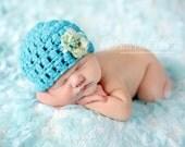 Crochet Baby Hat, Baby Girl Hat, Girl Baby Hat, Baby Photo Prop, Newborn Hat, Infant Hat, Baby Beanie, Hat for Baby Girl, Girl Newborn Hat