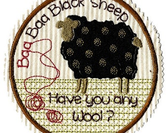 NURSERY RHYME  Applique Raggy Patch Machine Embroidery Designs