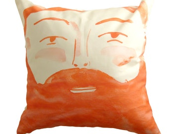 Two sided face pillow