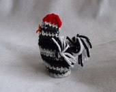 Speckled Hen Crochet  Easter Egg Cover