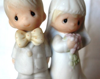 Precious Moments Wedding Bell Cake Topper