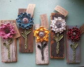 Recycled Flower Wall Tile