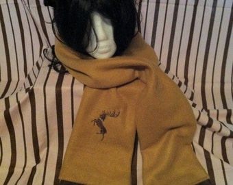 STAG HOUSE fleece scarf