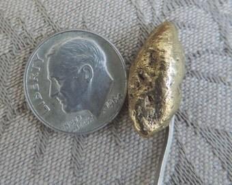 Vintage Gold Nugget Stickpin