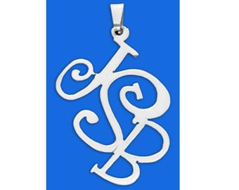 Sterling Silver Monogram Necklace  - choose from 5 styles