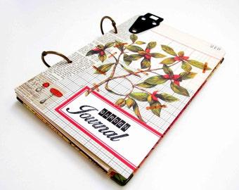 Vintage Inspired Garden Journal/Scrapbook