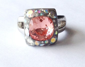 Peach Perfection Treasure Ring