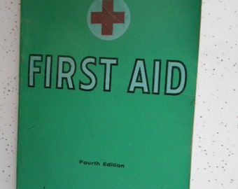 1933,1937,1945,1957,1965 American Red Cross First Aid Book Fourth Edition