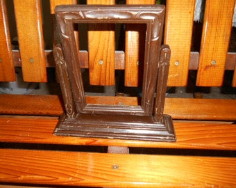 Vintage Wooden Frame on a stand for Picture or Mirror