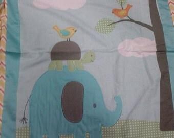 Elephant,turtle quilt