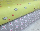 Enchant and Gracie Girl Collections Half Yard Bundle from Riley Blake Fabrics  - 1 yard total - on sale