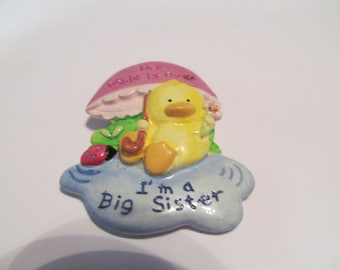 big sister brooch