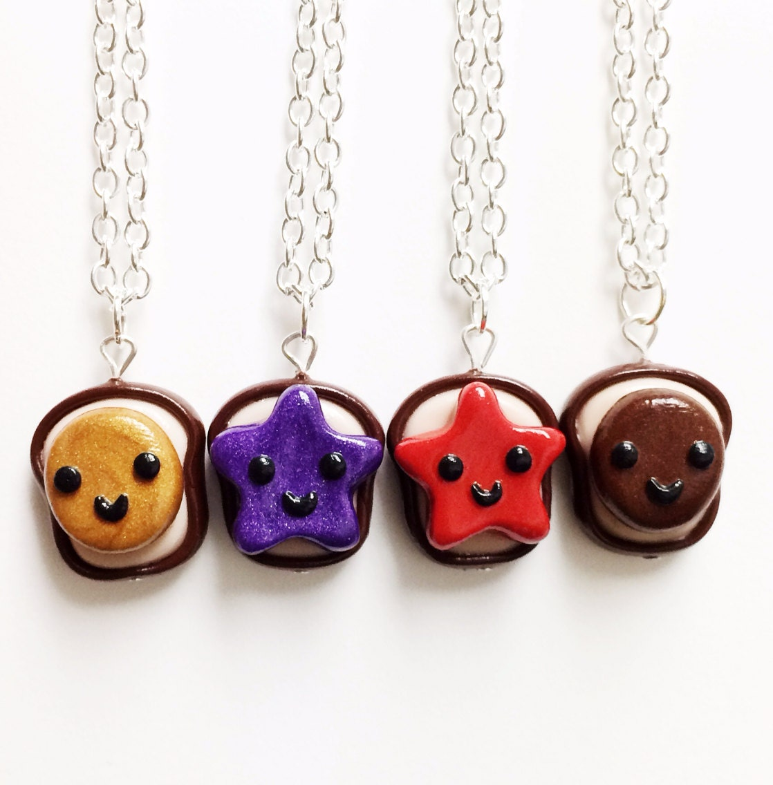 best friend best friend necklaces clay best friend