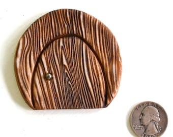 Miniature Fairy Door: cast marble stone