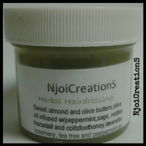 Herbal Hairdressing- An All Natural Hair Grease