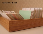 Address book box - reserved