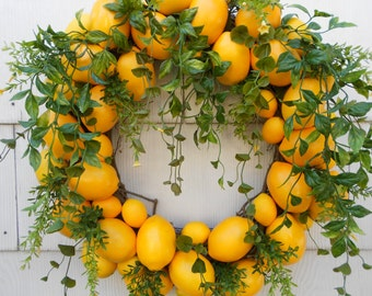Lemon Delight Wreath.......