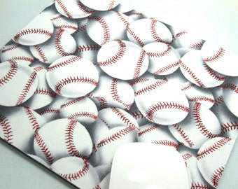 Buy 2 FREE SHIPPING Special!!   Mouse Pad, Computer Mouse Pad, Fabric Mousepad               Baseball