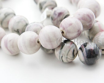 19pcs Porcelain beads-Round 17mm
