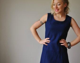 1960s Mod Mini dress~Size Extra small to small
