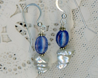 Blues over Pearls