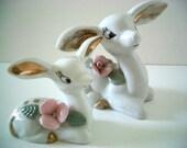Vintage Deer Figurines by Chase