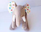 Elephant Plushie- Eldrige - LittleLuckies2