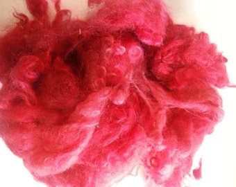Dyed yearling mohair 1 ounce