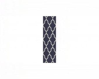 Tessellation 1 Cuff Bracelet - Loom or 8 Drop Odd Peyote Bead Pattern