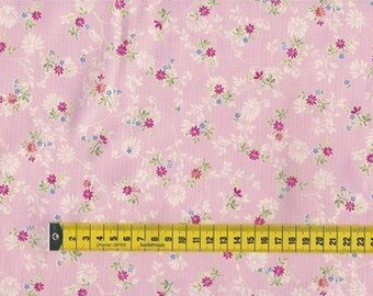 Quilting Treasures • Millefleur  • pink • Cotton Fabric 001105