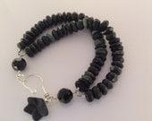 Double Black Stone Bracelet