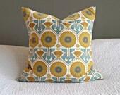 Modern Meadow Sunflower Pillow Cover - Sunglo