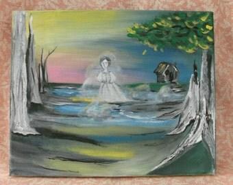 Ghost woman sighting