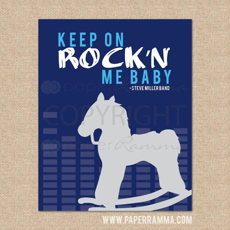 Keep on rockin me baby rock and roll nursery kids room for Rock n roll baby crib set