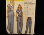 Uncut Butterick Pattern 5403 Size Xsm-Xlg Misses, Women's Jeans